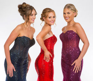 Our prom dresses