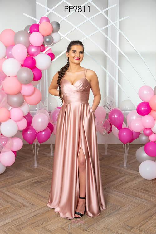 Prom Frocks PF9811 DUSKY ROSE FRONT
