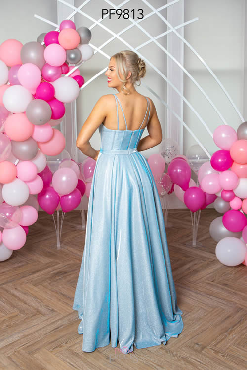 Prom Frocks PF9813 PALE BLUE BACK