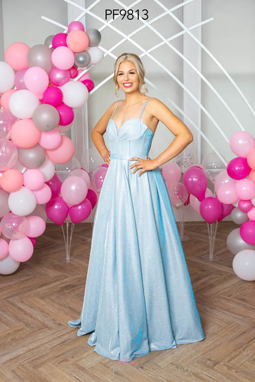 Prom Frocks PF9813 PALE BLUE FRONT