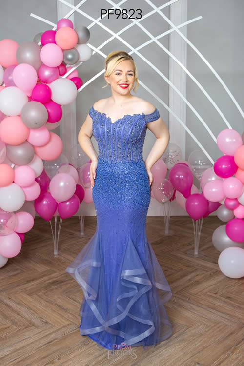 Prom Frocks PF9823 BLUEBELL FRONT