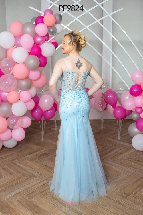 Prom Frocks PF9824 PALE BLUE BACK