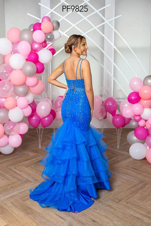 Prom Frocks PF9825 ALASKAN BLUE BACK