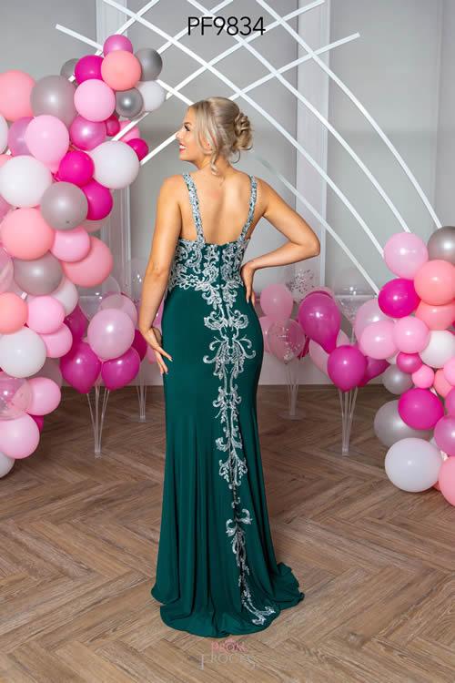 Prom Frocks PF9834 GREEN BACK