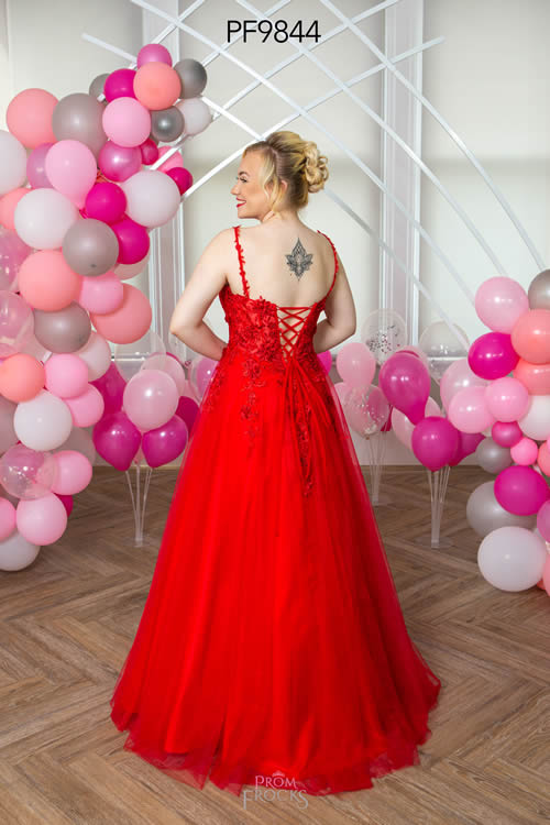 Prom Frocks PF9844 RED BACK