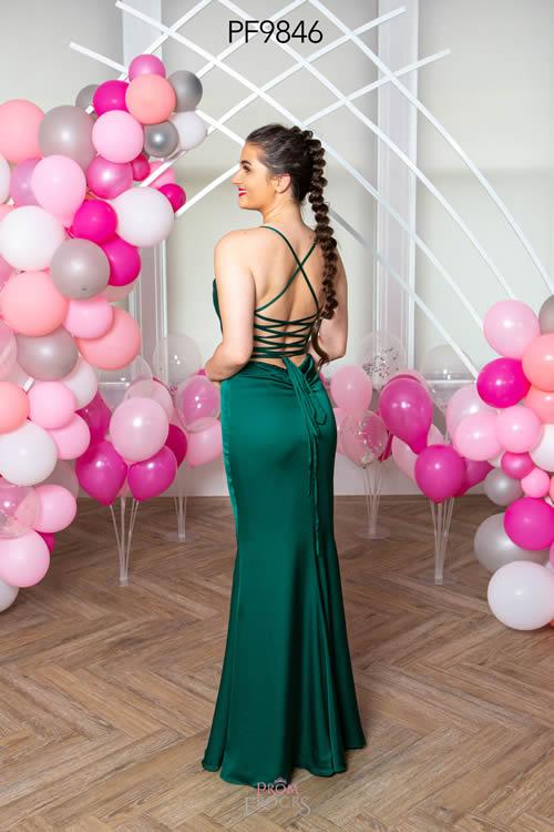 Prom Frocks PF9846 GREEN BACK