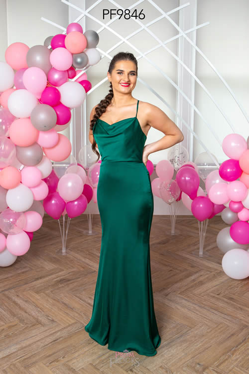 Prom Frocks PF9846 GREEN FRONT