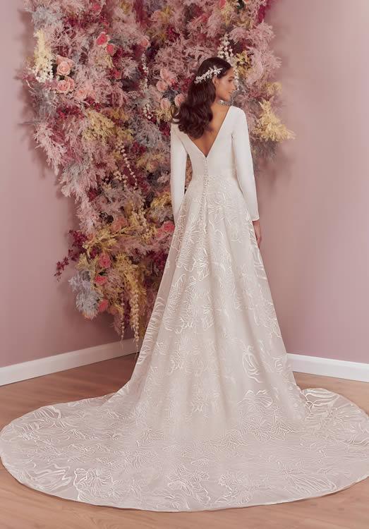 Phoenix Gowns PH0074 Back