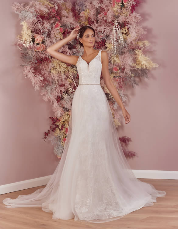 Phoenix Gowns PH0076 Front