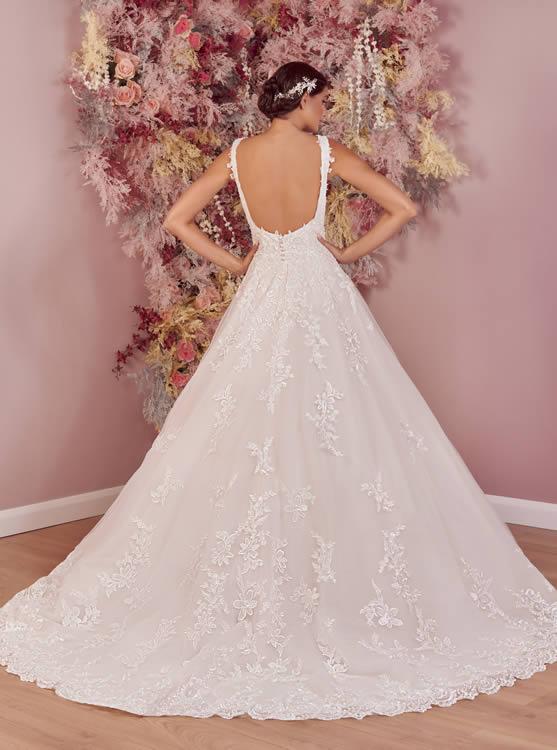 Phoenix Gowns PH0084 Back