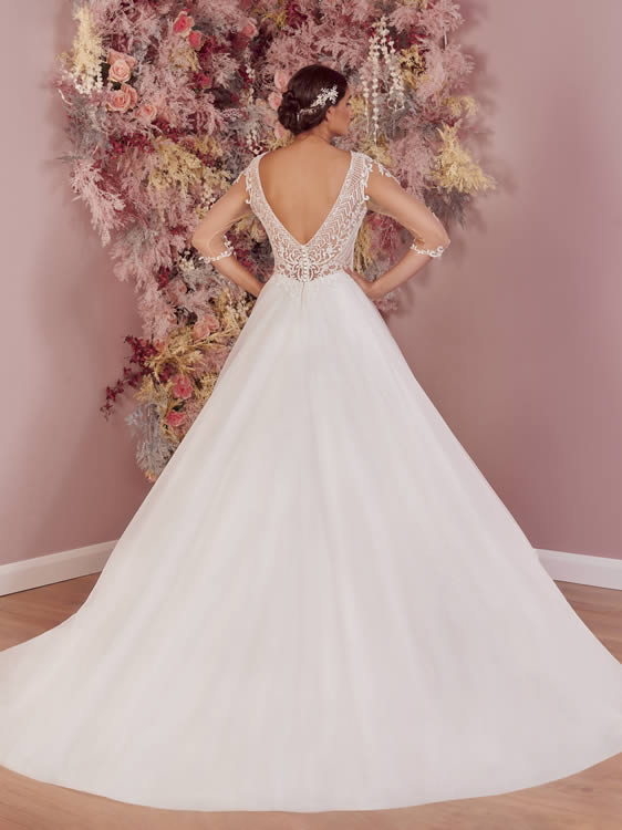 Phoenix Gowns PH0085 Back