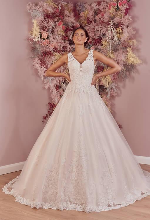Phoenix Gowns PH0086 Front