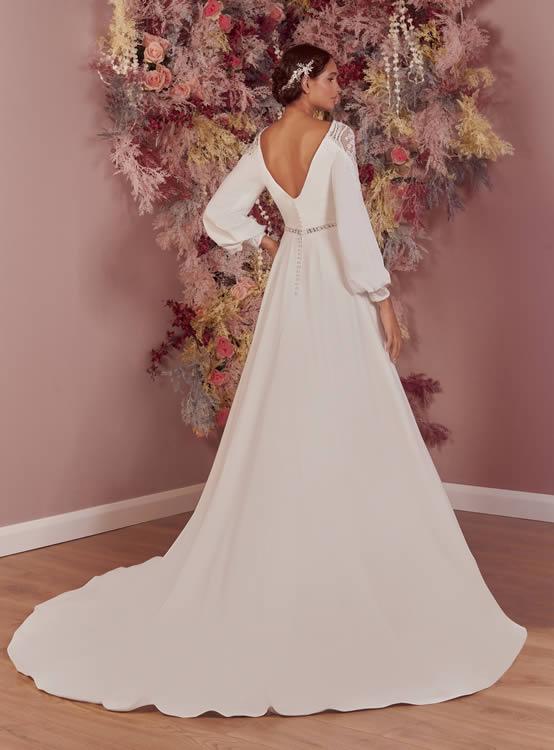 Phoenix Gowns PH0087 Back