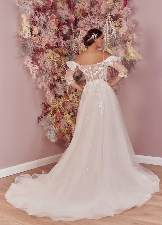Phoenix Gowns PH0088 Back