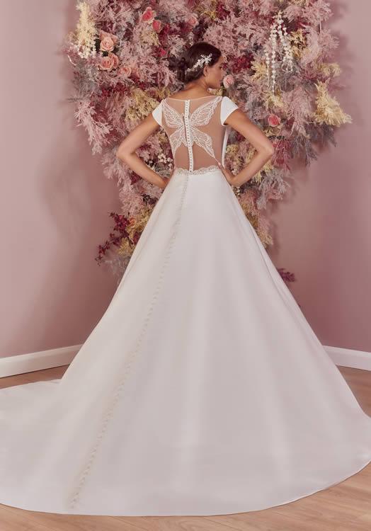 Phoenix Gowns PH0096 Back
